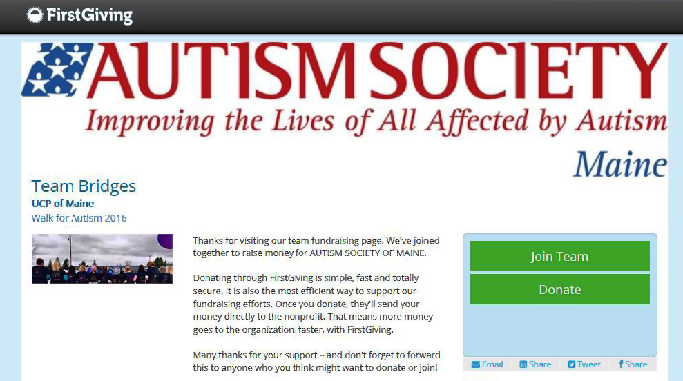 Autism Walk 2016