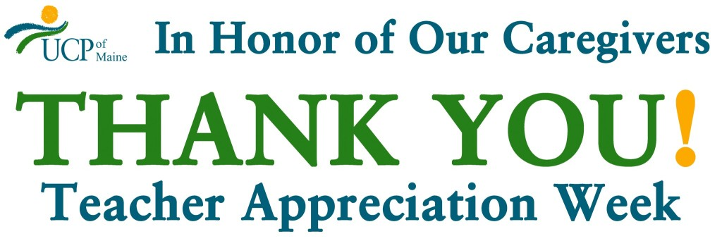 Teacher Appreciation thanks